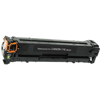 Remanufactured replacement for Canon 116 (1980B001AA) black laser toner cartridge