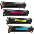 4 Pack - Remanufactured replacement for Canon 116 series laser toner cartridges
