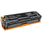 Remanufactured replacement for HP 128A (CE320A) black laser toner cartridge