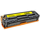 Remanufactured replacement for HP 128A (CE322A) yellow laser toner cartridge