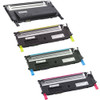 4 Pack - Remanufactured replacement for Dell 330-3012 series laser toner cartridges