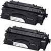 Twin Pack - Remanufactured replacement for Canon 119 (3480B001AA) black laser toner cartridge