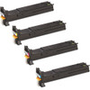 Konica-Minolta A06V133 series laser toner cartridges black and color set