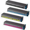 4 Pack - Compatible replacement for Okidata 41963604 series laser toner cartridges
