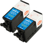 Twin Pack - Compatible replacement for Kodak 30XL (1550532) black ink cartridge