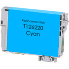 Remanufactured replacement for Epson T126220 cyan ink cartridge