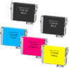 5 Pack - Remanufactured replacement for Epson T126 series ink cartridges