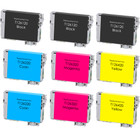 9 Pack - Remanufactured replacement for Epson T126 series ink cartridges