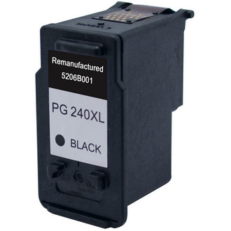 Remanufactured replacement for Canon PG-240XL (5206B001) black ink cartridge