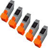 5 Pack - Compatible replacement for Canon BCI-21Clr color ink cartridges