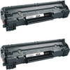 Twin Pack - Remanufactured replacement for HP 85A (CE285A) black laser toner cartridge