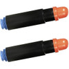 Twin Pack - Compatible replacement for Canon GPR-15 (9629A003AA) black laser toner cartridges
