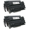 Twin pack - Remanufactured replacement for HP 11A (Q6511A) black laser toner cartridge