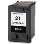 Remanufactured replacement for HP 21 (C9351AN) black ink cartridges