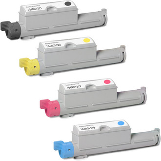 Xerox 106R01221 laser toner cartridges - Black and color set