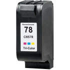 Remanufactured replacement for HP 78 (C6578D) color ink cartridge