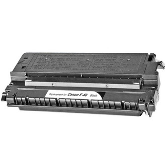 Remanufactured replacement for Canon E-40 (1491A002CA) black laser toner cartridge