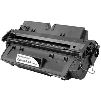 Remanufactured replacement for Canon FX-7 (7621A001AA) black laser toner cartridge