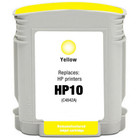 Remanufactured replacement for HP 10 (C4842A) yellow ink cartridge
