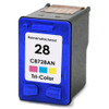 Remanufactured replacement for HP 28 (C8728AN) color ink cartridge