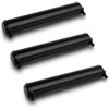 Panasonic KX-FA76 black laser toner cartridges - 3 pack