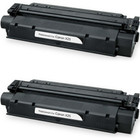 Twin Pack - Remanufactured replacement for Canon X25 (8489A001AA) black laser toner cartridge