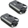 Twin Pack - Compatible replacement for Brother TN560 black laser toner cartridge