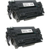 Twin Pack - Remanufactured replacement for HP 11X (Q6511X) black laser toner cartridge
