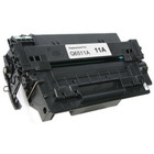 Remanufactured replacement for HP 11A (Q6511A) black laser toner cartridge