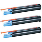 Tri-Pack - Compatible replacement for Canon GPR-8 (6836A003AA) black laser toner cartridges