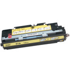 Remanufactured replacement for HP 311A (Q2682A) yellow laser toner cartridge