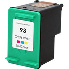 Remanufactured replacement for HP 93 (C9361WN) color ink cartridge