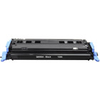 Remanufactured replacement for HP 124A (Q6000A) black laser toner cartridge