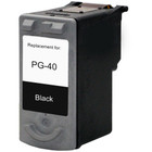 Remanufactured replacement for Canon PG-40 (0615B002) black ink cartridge
