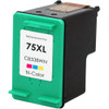 Remanufactured replacement for HP 75XL (CB338WN) color ink cartridge