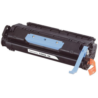Remanufactured replacement for Canon 106 (0264B001AA) black laser toner cartridge