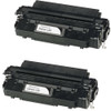 Twin Pack - Remanufactured replacement for Canon L50 (6812A001AA) black laser toner cartridge