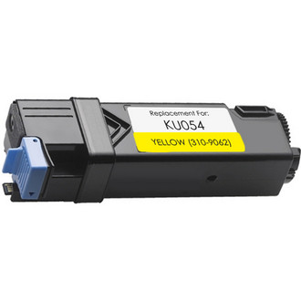 Compatible replacement for Dell 310-9062 (KU054) yellow