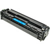 Remanufactured replacement for HP 125A (CB541A) cyan laser toner cartridge