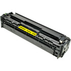 Remanufactured replacement for HP 125A (CB542A) yellow laser toner cartridge