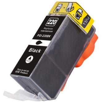 Compatible replacement for Canon PGi-220BK (2945B001) black ink cartridge