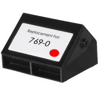 Pitney-Bowes 769-0 red ink cartridge