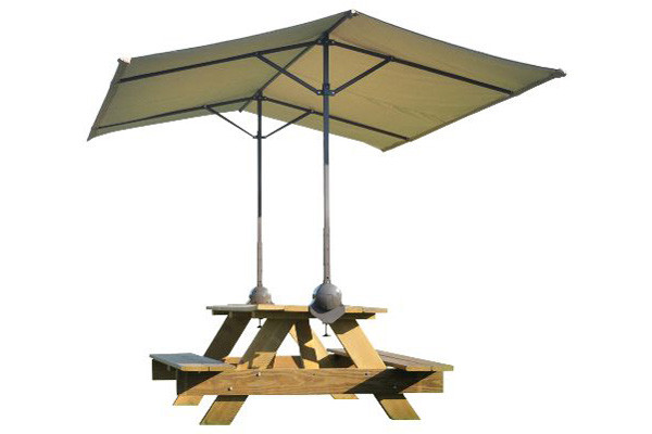 Quick Clamp Canopy Tilt Mount Desert Bronze Shelters Of