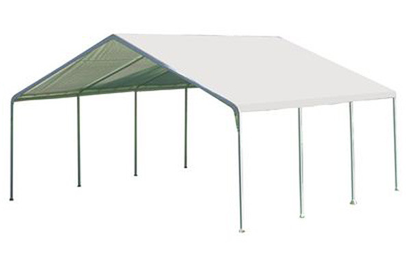18x20 Canopy 2 Quot 8 Leg Frame White Cover Shelters Of New
