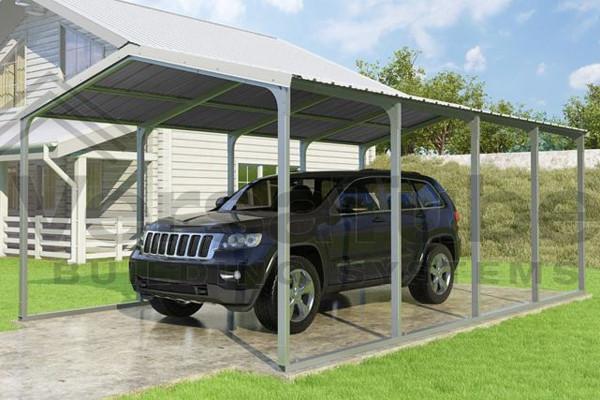 Versatube Grand Series Carports Shelters Of New England