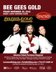 Bee Gees Gold- Friday, November 30th 2018
