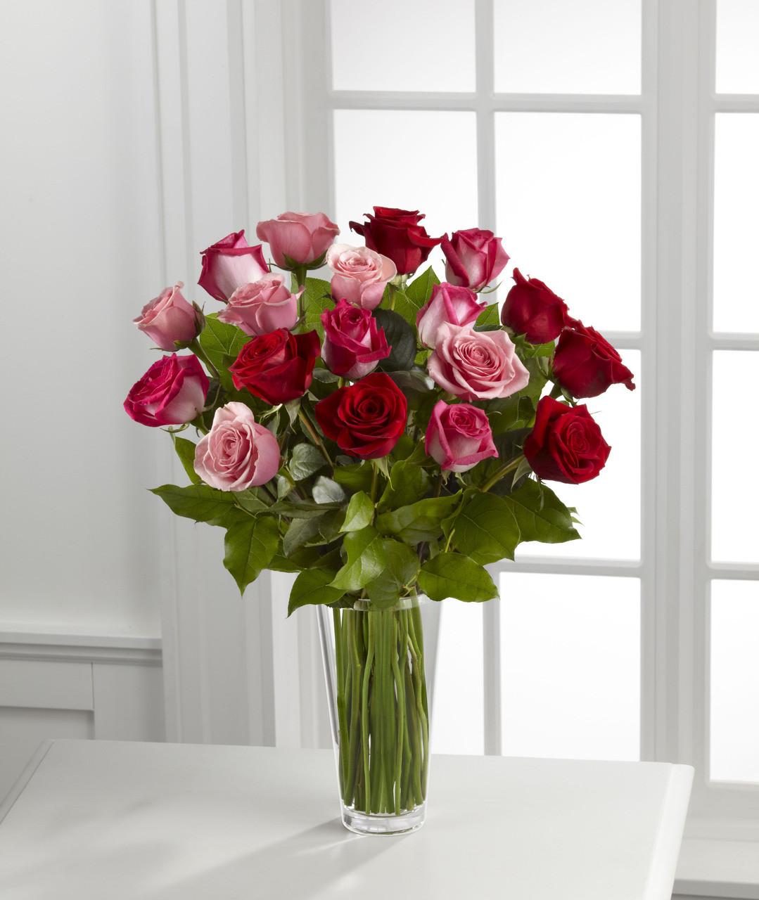 TheTrue Romance Rose Bouquet