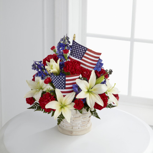 TheAmerican Glory Bouquet