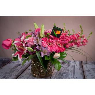 Pink Passion Bouquet Albuquerque Florist