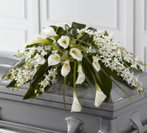 Angel Wings Casket Spray (Standard)